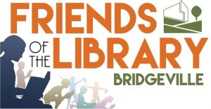 Friends of Bridgeville Public Library Logo