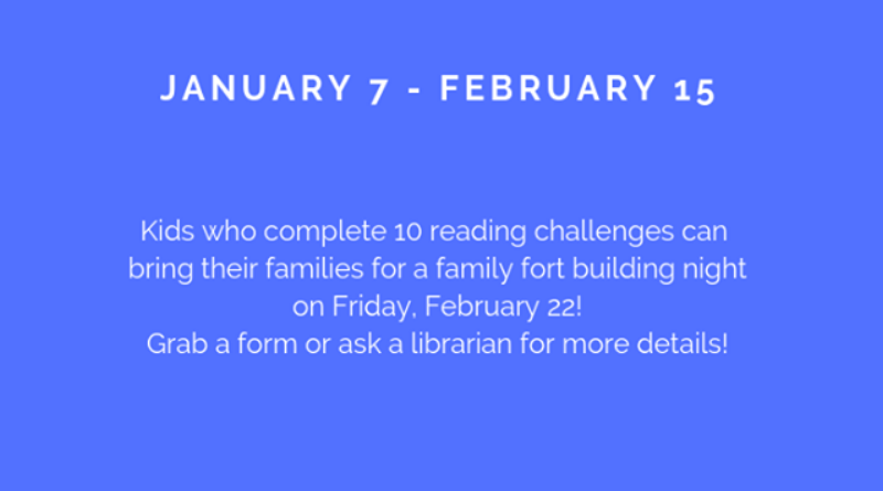 KIds' Winter Reading Challenge