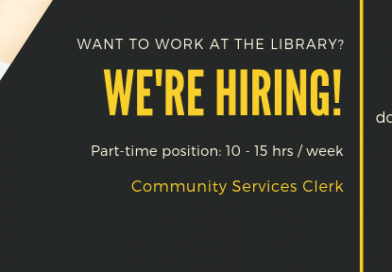 We're Hiring! (Part-time)