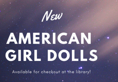 American Girl Dolls at the Library
