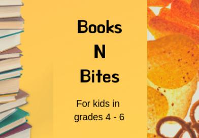 Books N Bites – Bookclub for kids!