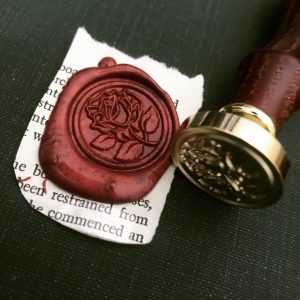 Wax Letter Seal and Stamp Image