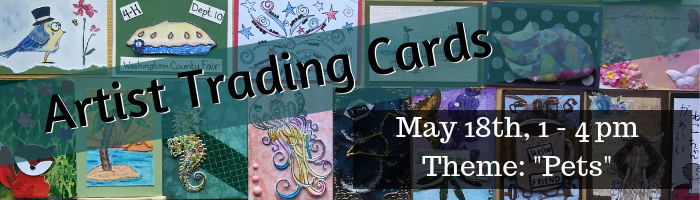 May Artist Trading Cards