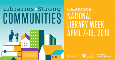 2019 National Library Week Header Image