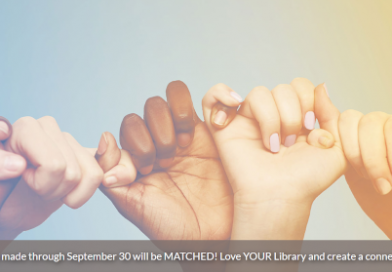 Love your Library in September