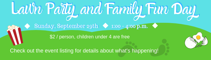 Lawn Party and Family Fun Day Event