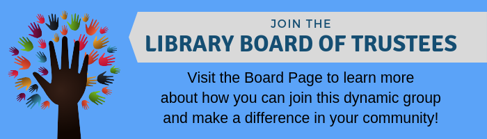 Now Accepting Applications for the Library Board of Trustees