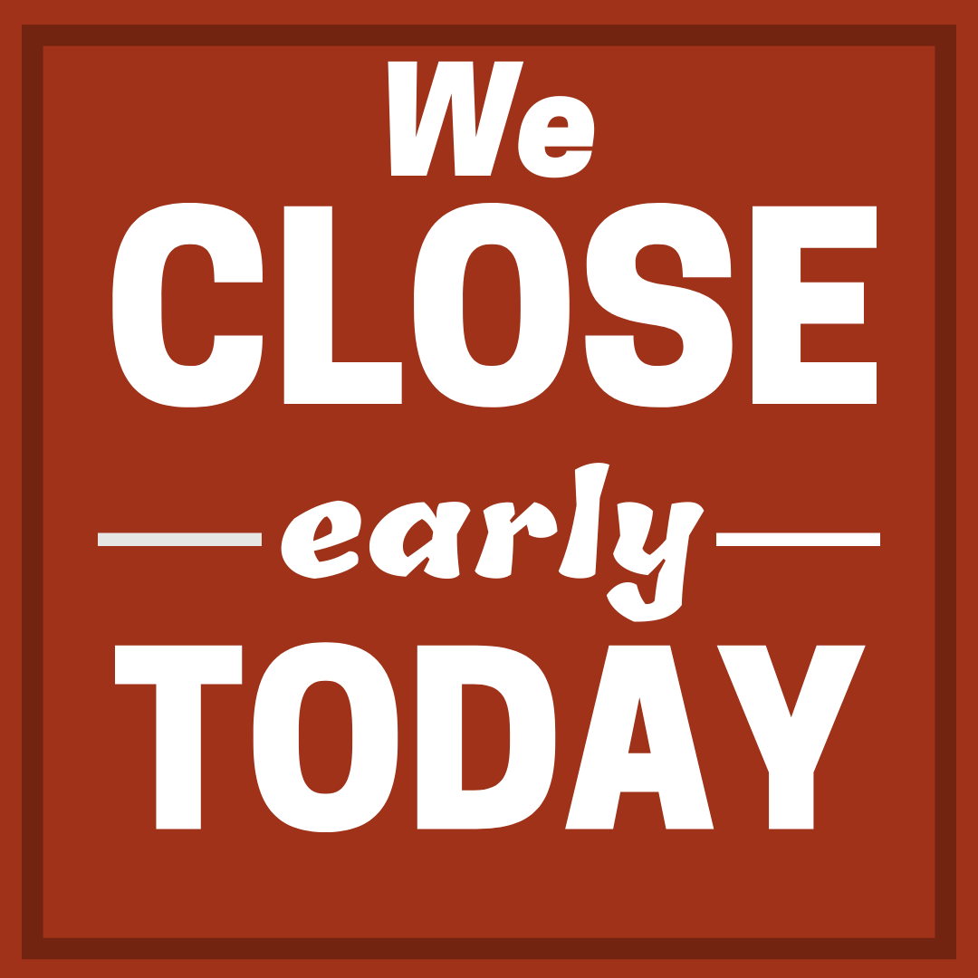 Early Closure Graphic