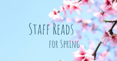 Spring staff reads banner
