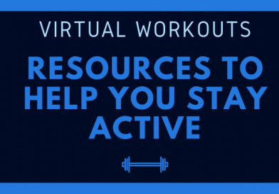 Stay active: FREE workout resources for you!