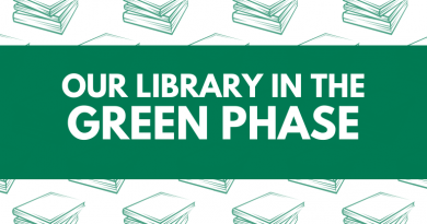 """Our Library in the Green Phase"" graphic"